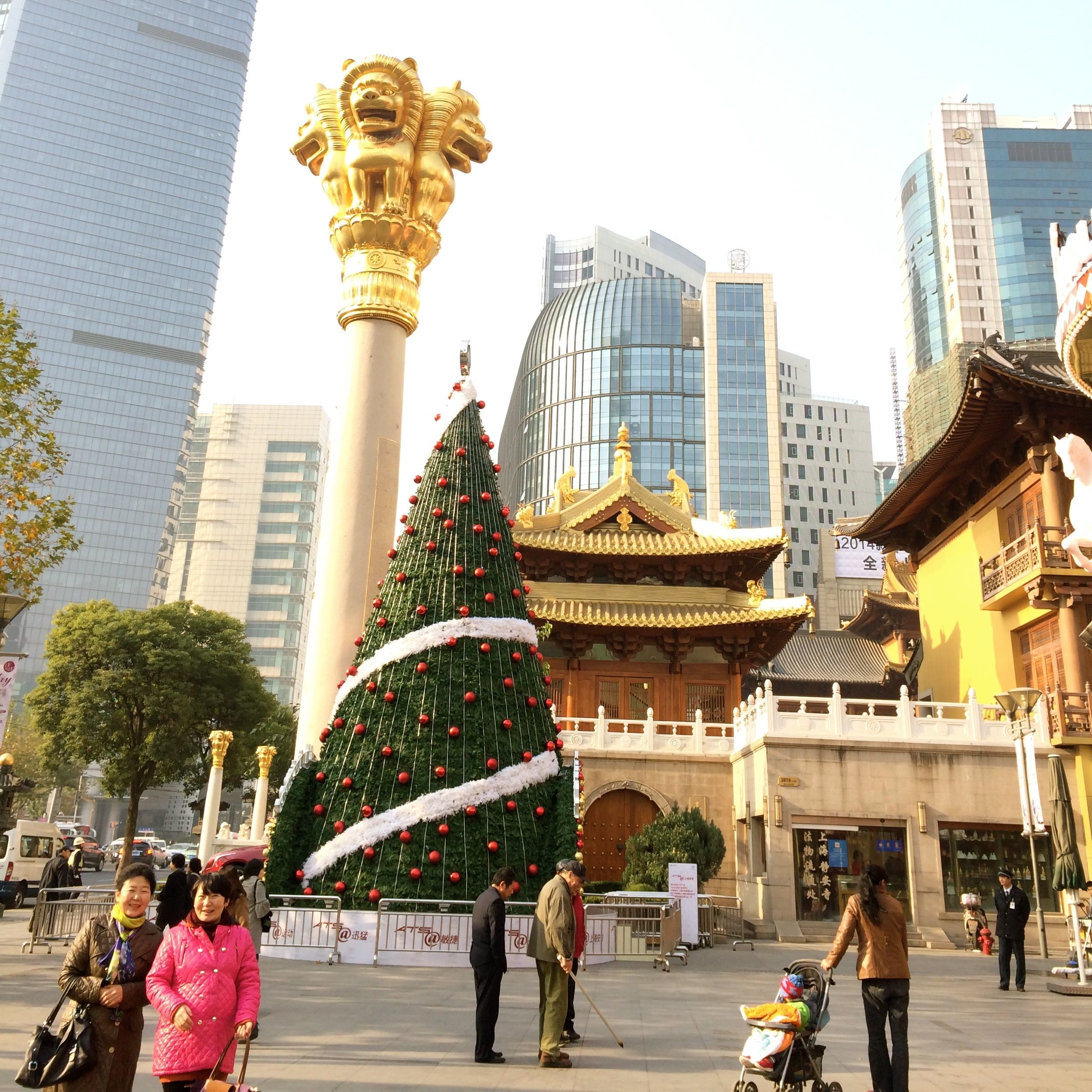 Christmas in Shanghai